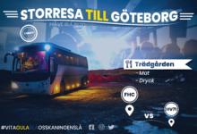 Photo of STORRESAN TILL GÖTEBORG ÄR SLUTSÅLD!