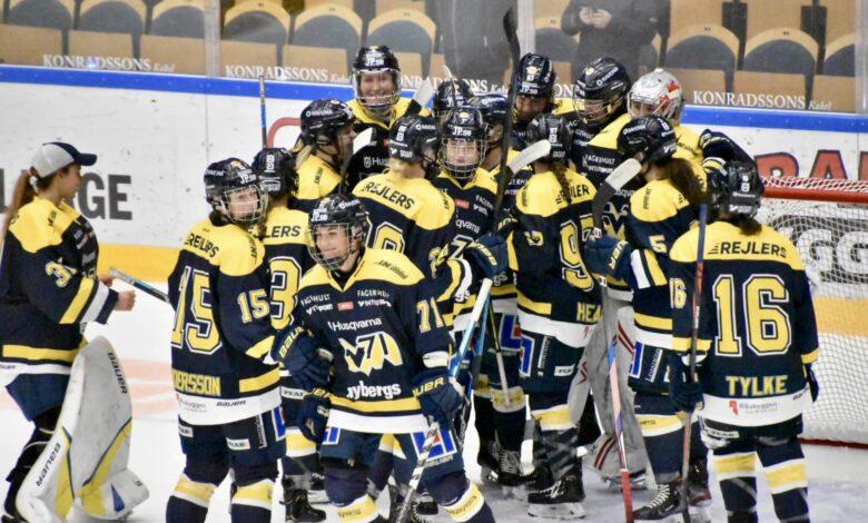 Photo of Damerna spelar final inför tomma läktare